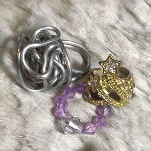 💸$5 Add On💸 Whimsical Ring Set